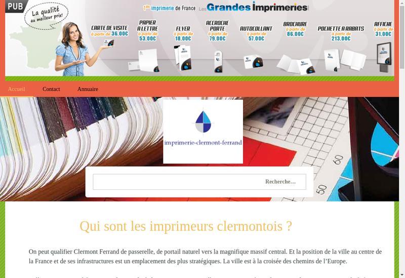 Capture d'écran du site de Berson