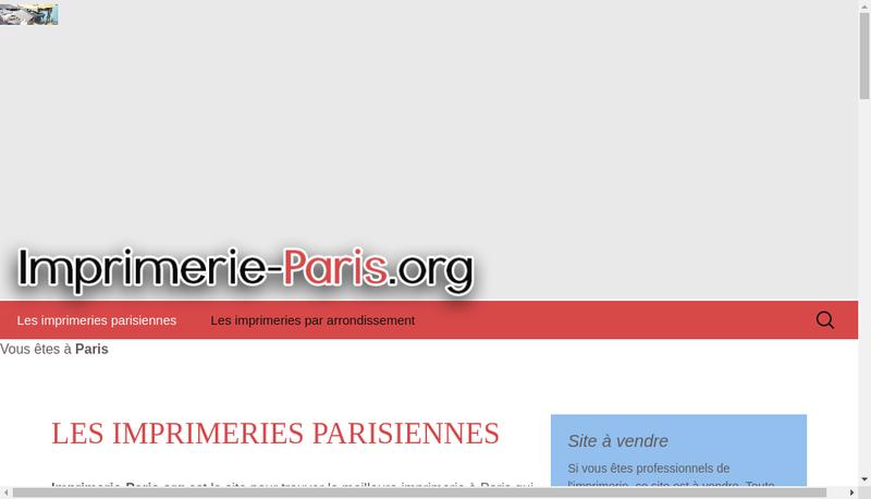 Capture d'écran du site de Societe Imprimerie Y Masson