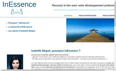 Site internet de Inessence
