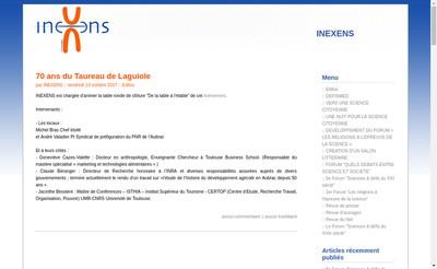 Site internet de Inexens