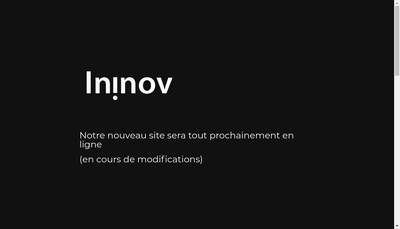 Site internet de Ininov