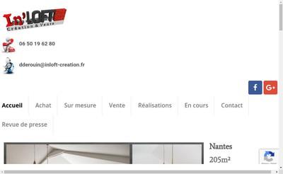 Site internet de In'Loft