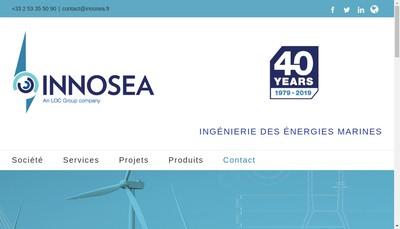 Site internet de Innosea
