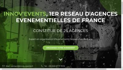 Site internet de Innov'Events