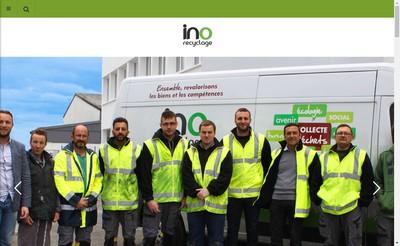 Site internet de Ino Recyclage