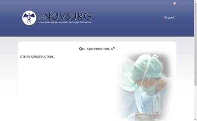 Site internet de I-Novsurg