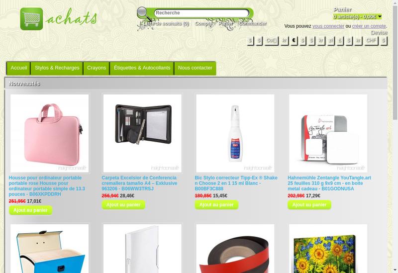Capture d'écran du site de Valorconseil