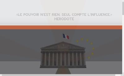 Site internet de Institutions et Strategies
