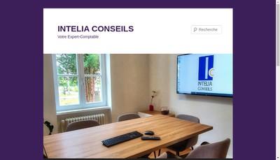 Site internet de Intelia Conseils