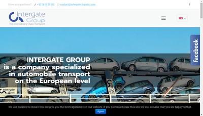 Site internet de Intergate