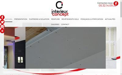 Site internet de Interieur Concept