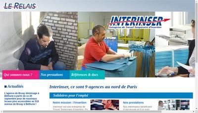 Site internet de Ebs Interinser 62