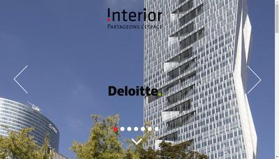 Site internet de Atelier Interior