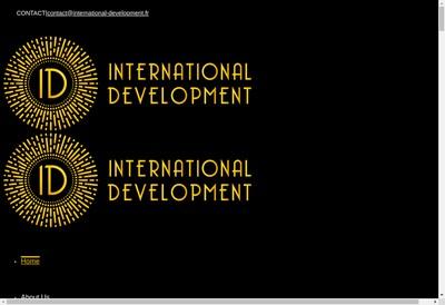 Site internet de Id International Development