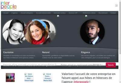 Site internet de Interpeople