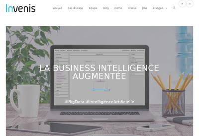 Site internet de Invenis
