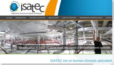 Site internet de Isatec