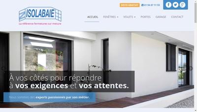 Site internet de Isolabaie