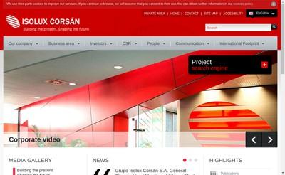 Site internet de SARL Isolux