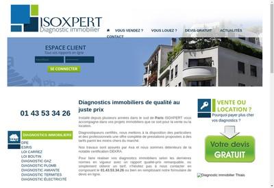Site internet de Isoxpert