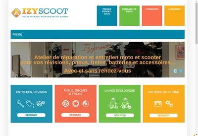 Site internet de L'Atelier 2 Roues