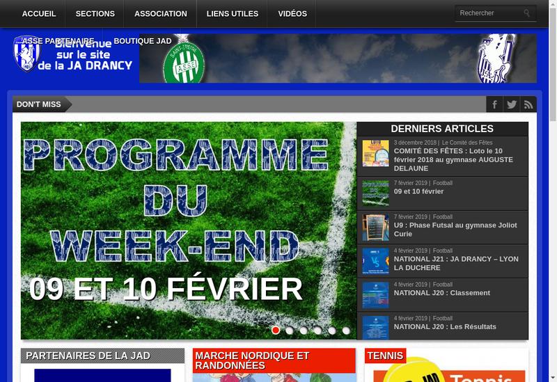 Capture d'écran du site de Jean Louis David
