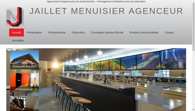 Site internet de Menuiserie Jaillet