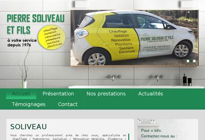 Capture d'écran du site de Jardinerie Animalerie du Bac