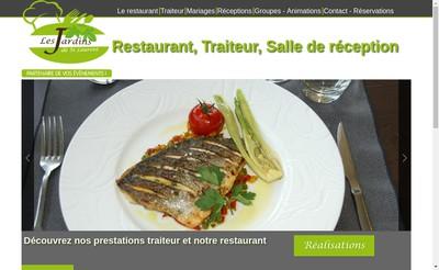 Site internet de Les Jardins de St Laurent