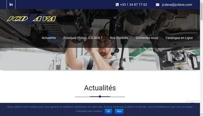 Site internet de Jcd Distribution