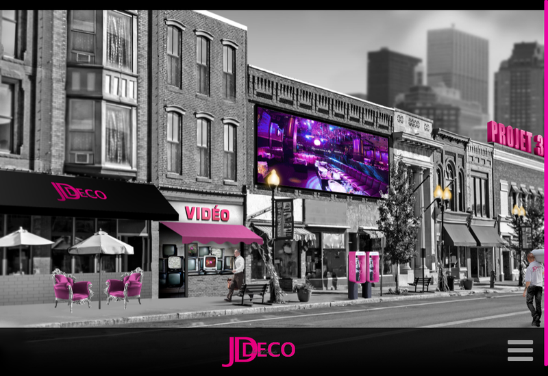 Capture d'écran du site de SARL One By Jd Deco