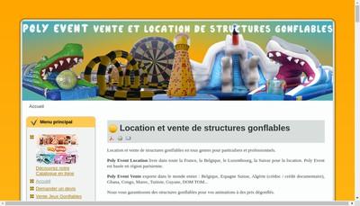 Site internet de Poly Event