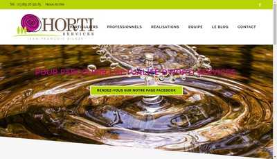 Site internet de Jfb Horti Services
