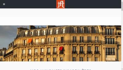 Site internet de Jft Gestion