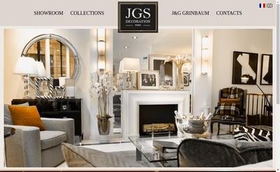 Site internet de Jgs