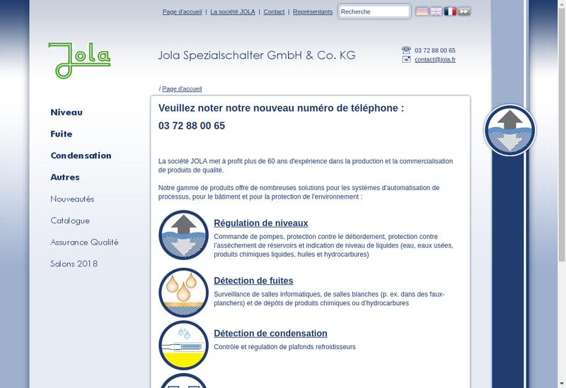 Capture d'écran du site de Serge et Nathalie