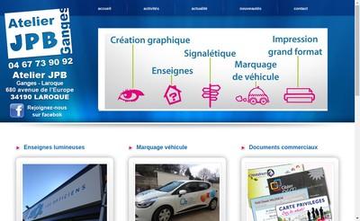 Site internet de Atelier JPB