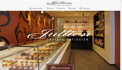 Site internet de Boulangerie Patisserie Jullien