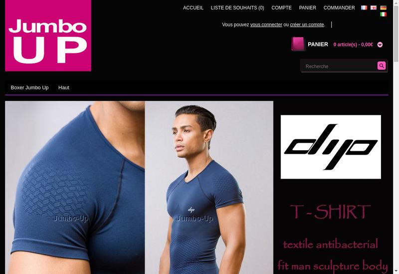 Capture d'écran du site de Valbrentis