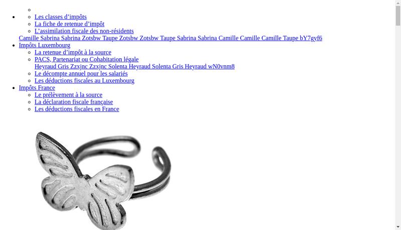 Capture d'écran du site de SARL Kabe
