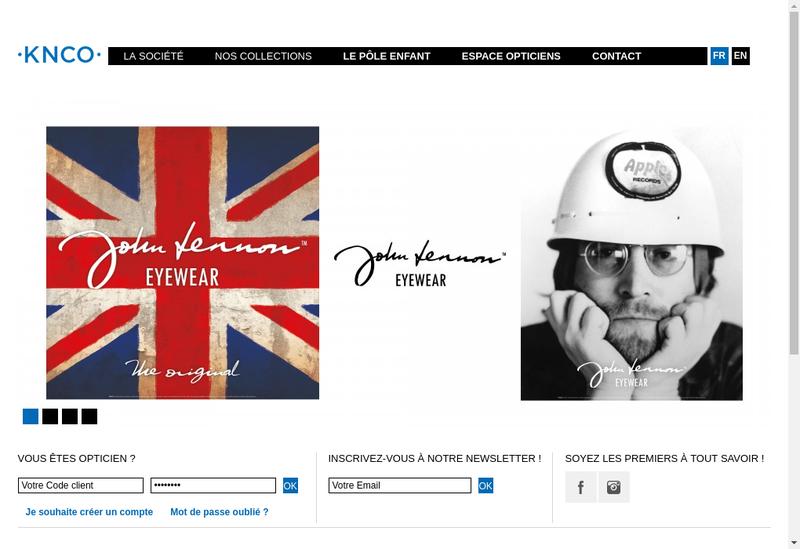 Capture d'écran du site de Axebo
