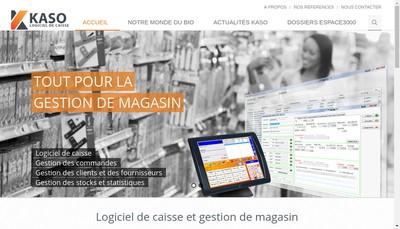 Site internet de SAS Kaso