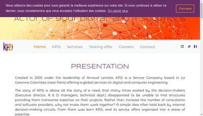 Site internet de Kp2I