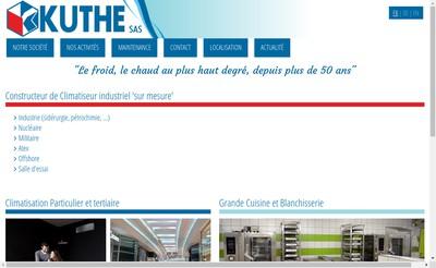 Site internet de Kuthe SAS