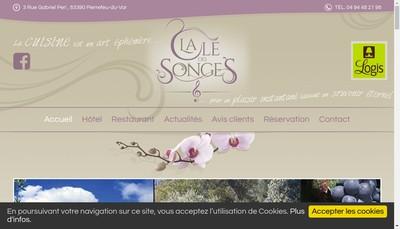 Site internet de La Cle des Songes