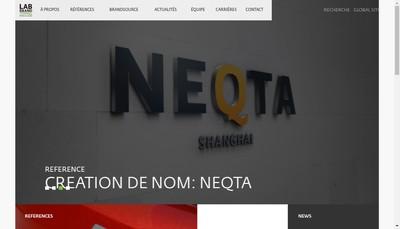 Site internet de Labbrand France