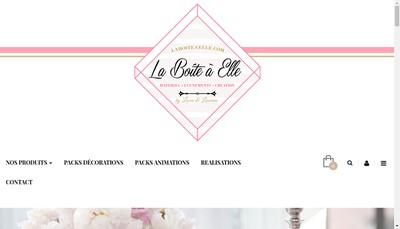 Site internet de La Boite a Elle