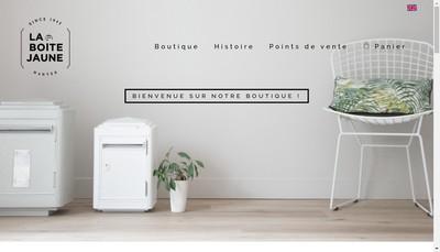 Site internet de La Boite Jaune
