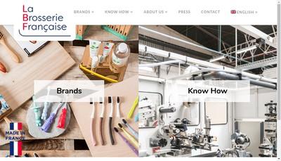 Site internet de La Brosserie Francaise