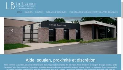 Site internet de La Bruzoise